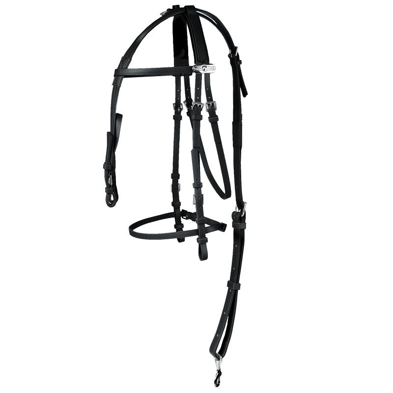 Product photo for Complete Synthetic Bridle, 100% Beta