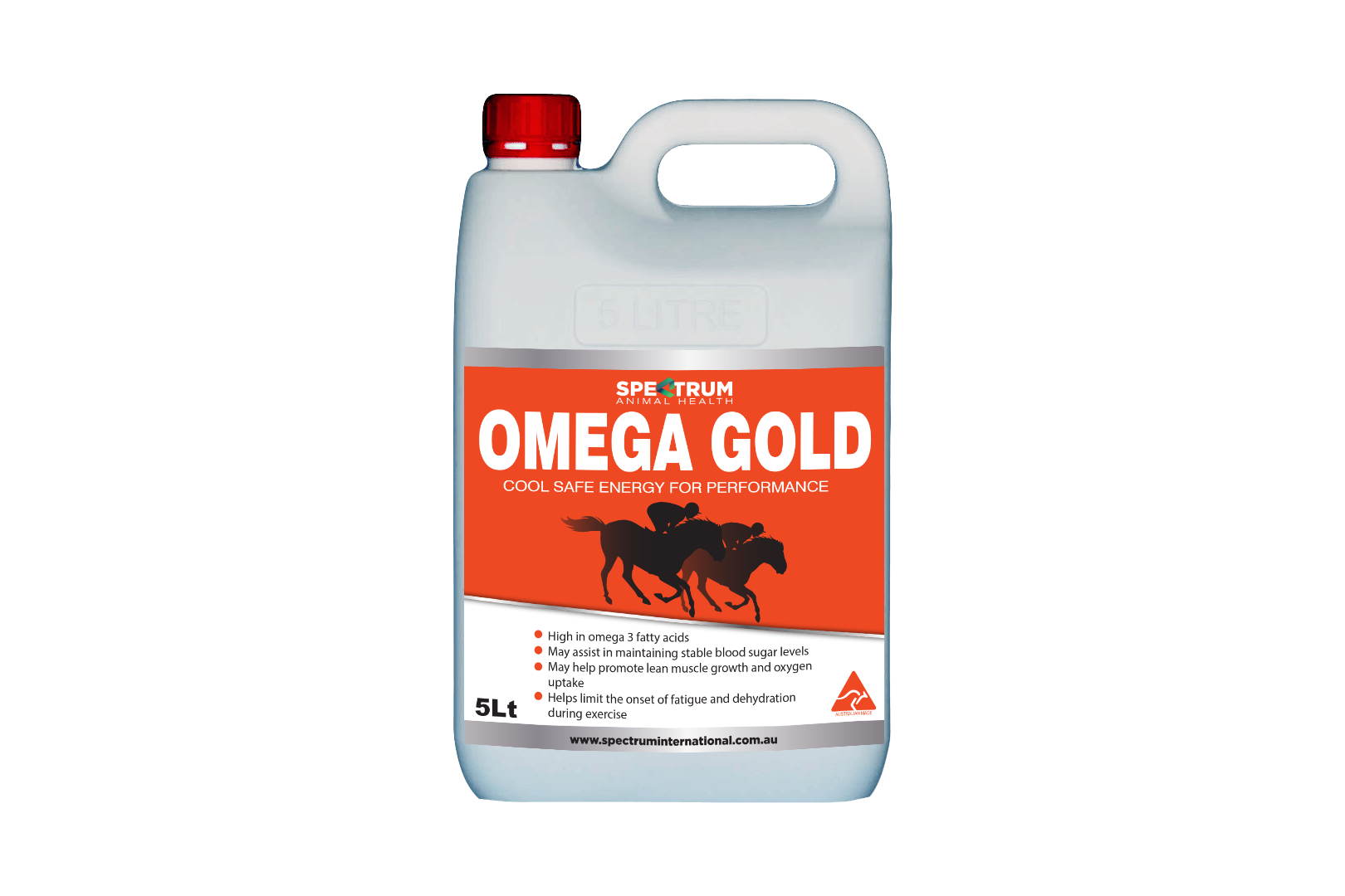 Product photo for Omega Gold 5L